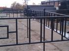 Фотография в Строительство и ремонт Разное Ограда на кладбище можно заказать по своим в Краснодаре 1110