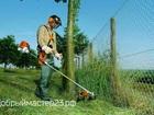 Изображение в Строительство и ремонт Ландшафтный дизайн Косим траву триммерами. При больших объемах в Краснодаре 250