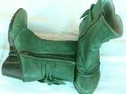 Свежее фотографию Ремонт, отделка полусапоги женские новые зеленые из Испании 38808698 в Краснодаре