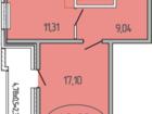 Изображение в   1к. квартира МКР Молодежный, ЖК « Березовый в Краснодаре 1460000