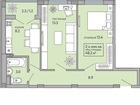 Изображение в Недвижимость Разное 3 ком. кв. 55 м2 общая пл. , 36 м2 жилая, в Краснодаре 1870000