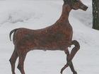 Скачать бесплатно foto  Скульптура из металлаМолодая антилопа 67845443 в Краснодаре