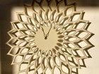 Уникальное фото Другие предметы интерьера Настенные часы Лотос на заказ 70166285 в Краснодаре
