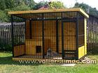 Уникальное изображение Другие строительные услуги Вольер для собаки в Краснодаре 70833356 в Краснодаре