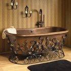 Подставки для ванной и раковины кованые