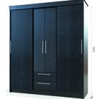 Объемный шкаф для большого количества вещей