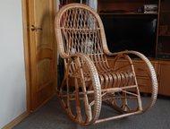 Кресло-качалка, Ивовая лоза Новая. Ручная работа.