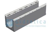 Лотки водоотводные бетонные DN200 с решеткой чугунной Кл, Е600