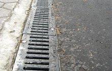 BGU Водоотводные лотки DN100, бетонные h125