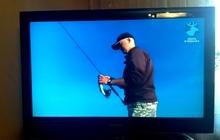 Телевизор жидко-кристаллический Samsung бу в отличном состоянии