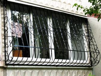 Свежее фото Двери, окна, балконы Решетки на окна, балконы, оградки, столики 30030940 в Краснодаре