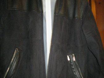 Скачать бесплатно фото  Куртка мужская замшевая, чёрная, р, 50-52, Корея, 33811029 в Краснодаре