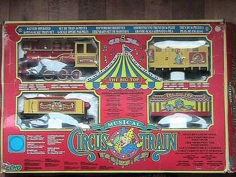 Новое изображение Детские игрушки Игрушечный цирковой музыкальный поезд 38819777 в Краснодаре