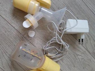 МОЛОКООТСОС ЭЛЕКТРИЧЕСКИЙ MEDELAприбор в использовании был 1 месяц, единственное чем пользовались это бутылочка, но на аппарат подходит любая самая обычная бутылочка в Краснодаре