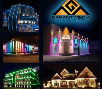Фото в   Архитектурная подсветка зданий широко применяется в Краснодаре 0