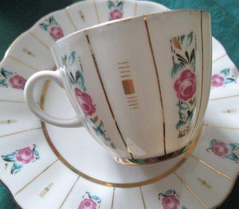Фотография в Мебель и интерьер Антиквариат, предметы искусства Пара антикварных кофейных чашек с блюдцами в Краснодаре 2500