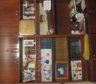 Изображение в Мебель и интерьер Мебель для дачи и сада Продается два книжных шкафа (82х40х225)  в Краснодаре 1000