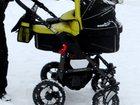 Фотография в Для детей Детские коляски Несущая рама с поворотными колесами (поворотные в Красноярске 8000