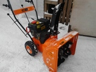Уникальное фотографию  продам снегоуборочник Прораб 34511745 в Ачинске