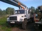 Увидеть фото Буровая установка Ямобур, бурильно-крановая машина БКМ-317 на базе ГАЗ (вездеход) 36968816 в Красноярске