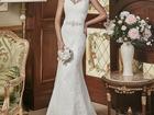 Фото в Одежда и обувь, аксессуары Свадебные платья Свадебное платье силуэта рыбка позволяет в Красноярске 13000
