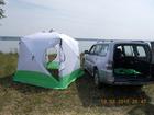 Увидеть фотографию Рыбалка Палатка Куб 2,5х2,5х2,3 утепл Уралзонт 38153546 в Красноярске
