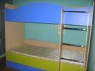 Свежее фото Детская мебель Продам б/у двухъярусную кровать 38944917 в Красноярске