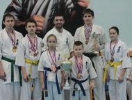 Школа каратэ киокусинкай проводит набор с 4 лет и старше Красноярская Детско-Юно