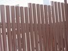 Просмотреть foto  Забор из поликарбоната – прочность профнастила и комфортные условия освещения 39049844 в Москве