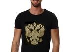 Смотреть фотографию  Дизайнерские футболки,толстовки и иной текстиль с аппликацией кристаллами и металлом 39162077 в Москве