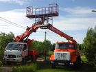 Скачать фотографию  Аренда автовышки 12-26 м (люлька-балкон) корейские и ЗИЛ 39215061 в Одинцово-10