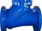 Просмотреть изображение  Клапан обратный шаровый фланцевый Ду 50, Ру16 39255505 в Саратове