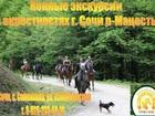 Свежее фото  Экскурсии верхом на лошадях Сочи, Конный клуб Триумф Сочи 40465252 в Сочи