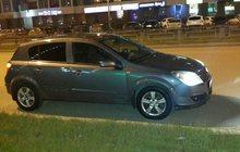 Opel Astra серый хетчбэк 5 дверей, 2005 г