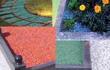 Технология изготовления цветного щебня