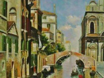 Смотреть foto  Картина маслом Солнечная Венеция 40х50см и др, Ручная работа 33497871 в Кургане