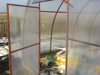 Скачать бесплатно фотографию Другие строительные услуги Теплицы из поликарбоната 33817568 в Кургане