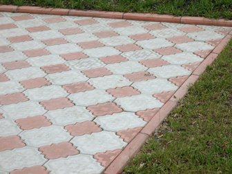 Увидеть фото Строительные материалы Тротуарная плитка Ромашка Восточная в сборе 34023032 в Кургане