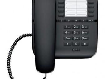 Увидеть изображение  Телефон проводной Gigaset DA510 (черный) 34656862 в Новосибирске