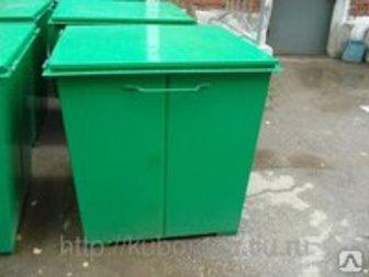 Скачать бесплатно фотографию  Продаем мусорные контейнеры для ТБО металлические и пластиковые 36599661 в Саратове