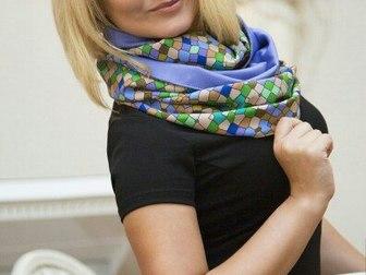 Просмотреть фотографию  Бесплатно платок-снуд от дизайнера 38572405 в Москве