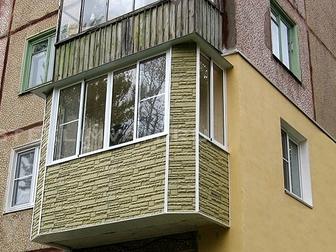 Скачать фото  Остекление балконов под ключ, остекление лоджий 39342007 в Москве