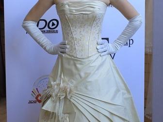 Увидеть foto  свадебное платье прямого силуэта 40053944 в Москве