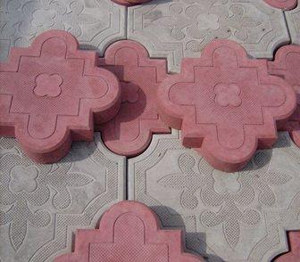 Изображение в Строительство и ремонт Строительные материалы Тротуарная плитка Клевер краковский вибролитая. в Кургане 500