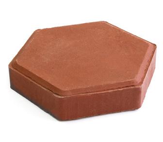 Изображение в Строительство и ремонт Строительные материалы Тротуарная плитка Шестигранник ( полимер-песчаный) в Кургане 650
