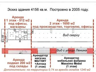 Увидеть фото Коммерческая недвижимость Продам помещения 5400 кв, м, Земля 0,74 га в собственности 37749129 в Курске