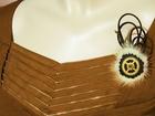 Свежее foto Ювелирные изделия и украшения Необычная Стимпанк брошь из норки, кожи и замши Зиг 65678993 в Кушве
