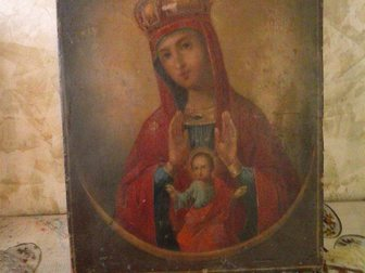 Новое фотографию Антиквариат Продаю икону 18-19 век, 33860823 в Москве
