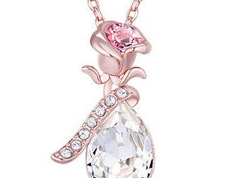Скачать бесплатно фото Ювелирные изделия и украшения Кристалл, Ожерелье Angel Tears 39076345 в Липецке