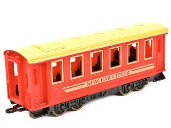 Скачать бесплатно изображение  Паровоз с вагоном Технопарк 69091818 в Липецке